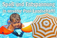 Spass am Pool ...